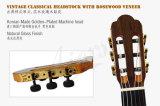 Guitare classique électrique solide d'Aiersi première avec le modèle grand