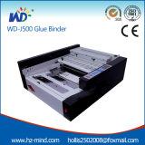 Cola perfecta automático Binder (WD-J500) Pegamento Encuadernadora