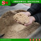 Resíduos de madeira totalmente automática Shredder de galhos de Reciclagem de sucata