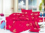 De kleurrijke Textiel van het Beddegoed van het Blad van het Bed van Microfiber van het Bamboe van het Patroon van de Bloem Goedkope Vastgestelde Vastgestelde naar huis