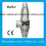 Válvula de seguridad de acero de /Stainless del bronce del Ce de Aetv