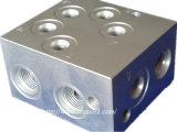 Nicht Standardteil-mechanisches Teil verwendet auf Maschine maschinell bearbeitetem Teil