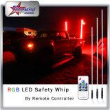 Ivory Peitschen Gefäß RGB-LED durch Fernsteuerungs für UTV ATV verwanztes Jeep-aussehen wie Faser-Optikpeitschen