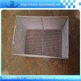 Cestino diResistenza della rete metallica dell'acciaio inossidabile