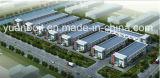 Edificio ligero prefabricado de acero de la fábrica del almacén del acero estructural
