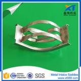 Ss304 MetaalZadel Intalox voor Diep Vacuüm