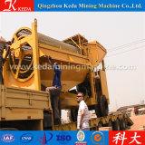 Crivello a tamburo di estrazione mineraria per la separazione dell'oro