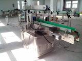 Cuadrados automática botella plana barril adhesivo etiqueta autoadhesiva etiquetadora