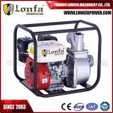 3inch 6.5HP Bomba de água portátil do motor da gasolina do começo manual