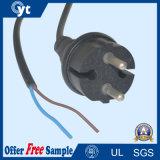 Европейский VDE шнур питания переменного тока 2 контактный разъем с кабелем