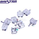 Métal dentaire mini Roth de MIM Monoblock. 022 3-4-5 brides orthodontiques de crochets