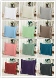 45 * 45cm Plain Dyed 100% Pure Purberry Silk Cushion Cover