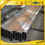 Perfiles de aluminio anodizados alta calidad de la pared de cortina