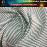 Streifen-Windung Shirting Gewebe des Polyester-T400 Garn gefärbtes (YD1167)