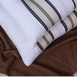 ホテルのための低刺激性の卸し売り綿の縞の枕