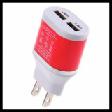 Chargeur mural USB double pour Android iPhone