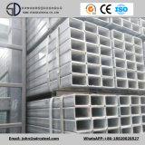 Q235 Q345 Ss400 heißes BAD galvanisiertes quadratisches Gefäß mit Löchern für Rahmen