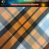 Tessuto dell'assegno tinto filato di nylon di Fashonal per la camicia esterna