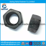 Китайская гайка ранга 2h поставщика ASTM A194 тяжелая Hex с черной поверхностью