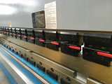 Macchina piegatubi saldata di CNC 125t 4000mm del metallo del blocco per grafici