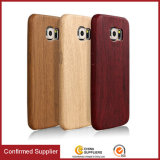 2017 Trending Product Leather Wood Case, capas de telefone de madeira para Samsung Note 5