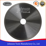 200mm Continuous Rim Diamond Saw Blade for Bast