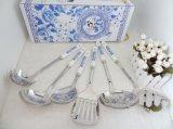 Utensili/strumenti della cucina dell'acciaio inossidabile con la maniglia di ceramica