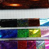 Sparkling Shine Glitter Leather PU Leather para calçado de couro (HS-M300)