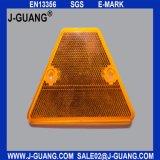 Indicatore di plastica della pavimentazione, occhi di gatto dei riflettori della strada (Jg-R-16)
