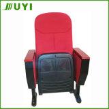 Jy-615S Precio Tela Tabla silla sillas de madera de China cojín de asiento auditorio para la venta