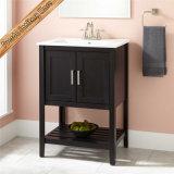 Самомоднейший шкаф ванной комнаты тщеты ванной комнаты высокого качества твердой древесины Fed-306