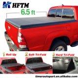 F150 6.5 'ベッドSupercrew 2015-2016年のためのF150トラックの荷台カバー