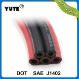 Yute DOT noir à haute performance Ensemble de flexible de frein pneumatique de remorque