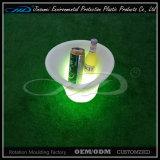 Cubo de hielo plástico de la cerveza del LED con el material de LLDPE