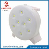 8 PCS SMD LED tabla recargable luz de emergencia