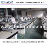Holiauma는 1개의 헤드 가득 차있는 자동적인 Embroidry 기계 질 싼 가격을%s 가진 행복한 컴퓨터 자수 기계를 좋아한다