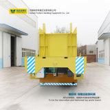 Transporte pesado motorizado industria de la máquina del carro plano del carril