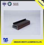 Perfil de liga de alumínio com superfície de electroforese
