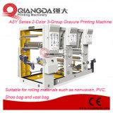 Impresora del fotograbado de la serie 2-Color 3-Group del montaje