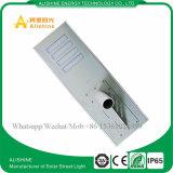 indicatore luminoso di via solare tutto compreso di 80watts LED con il sensore di movimento di PIR
