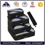 Enrichissez les organisateurs de voyage Packing Cubes for Travel Sac de linge Sacs de compression de bagages