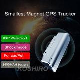 Automobile impermeabile GPS con un tempo standby di 3 mesi