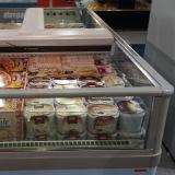 Suporte de refrigeração comercial vitrine de exibição