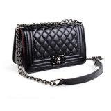 Траверсу сумки через плечо мешок для женщин мини-решеточной цепь подушки безопасности (ГБ#CE0610#)