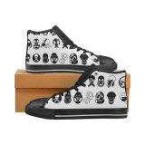 習慣は靴に標準的な昇華プリントキャンバスのスニーカーをする