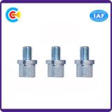 Le carbone Steel/4.8/8.8/10.9 a personnalisé les vis principales hexagonales galvanisées cylindrique de dispositif de fixation/fromage