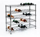 Het praktische Rek van de Tribune van de Fles van de Wijn van het Restaurant Vlakke (WR903590A5C)