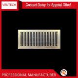 Grelhas de ventilação do HVAC a folha de ferro difusor de piso