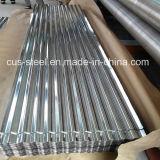 Lamiera di acciaio galvanizzata ondulata dell'onda delle mattonelle/acqua di tetto di Gi