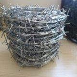 有刺鉄線の/Galvanizedの有刺鉄線/電気電流を通された有刺鉄線